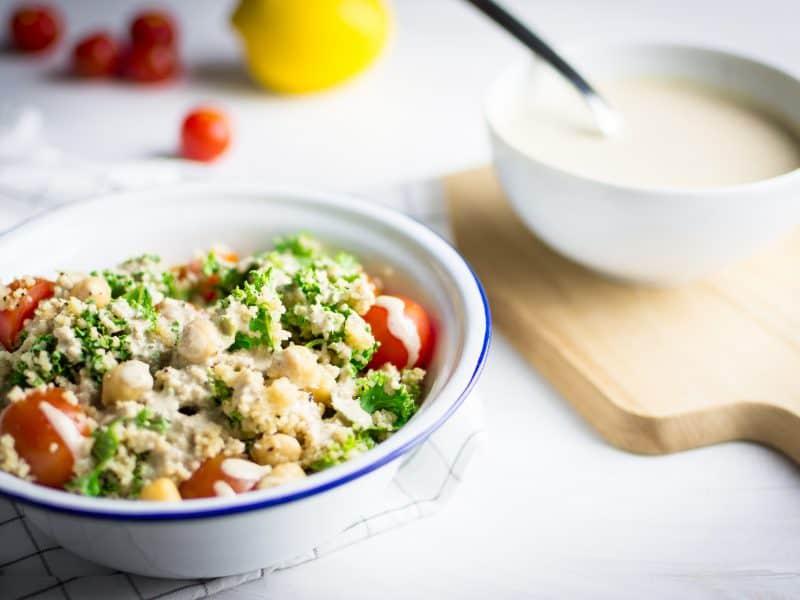 couscous kale salad