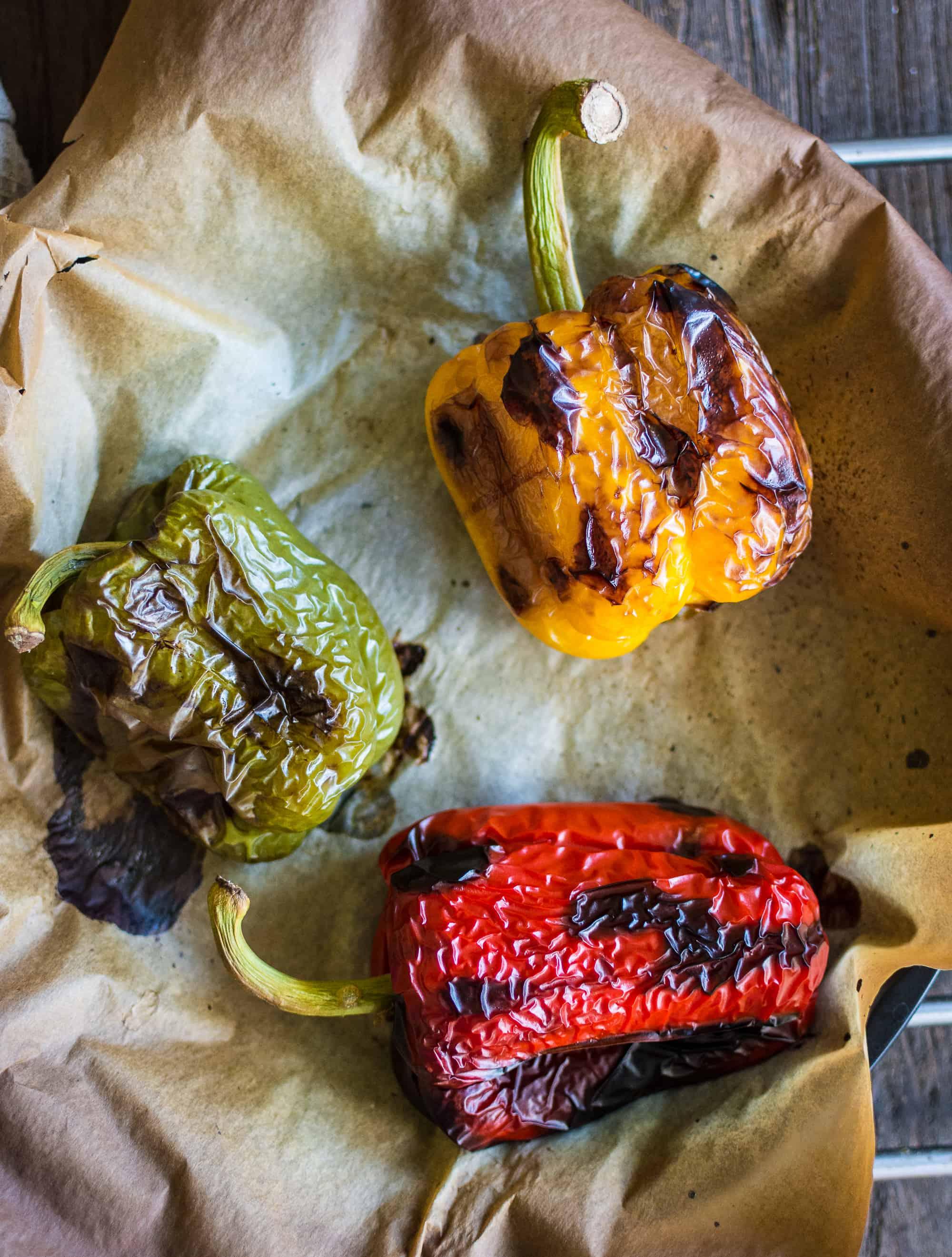roasted bell pepper