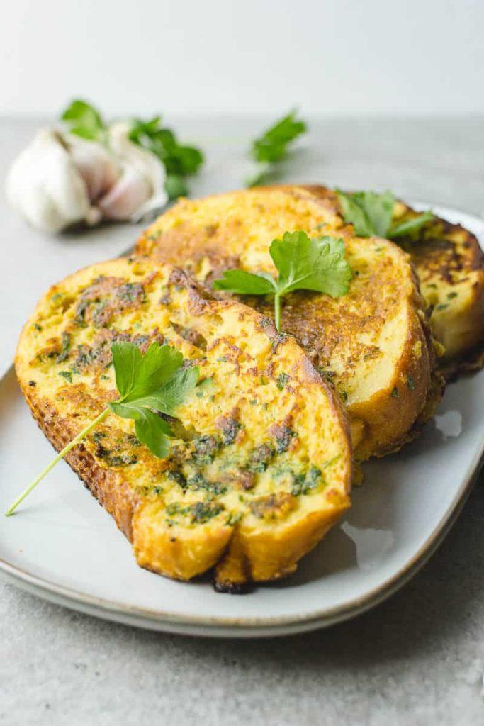 garlic bread french toast