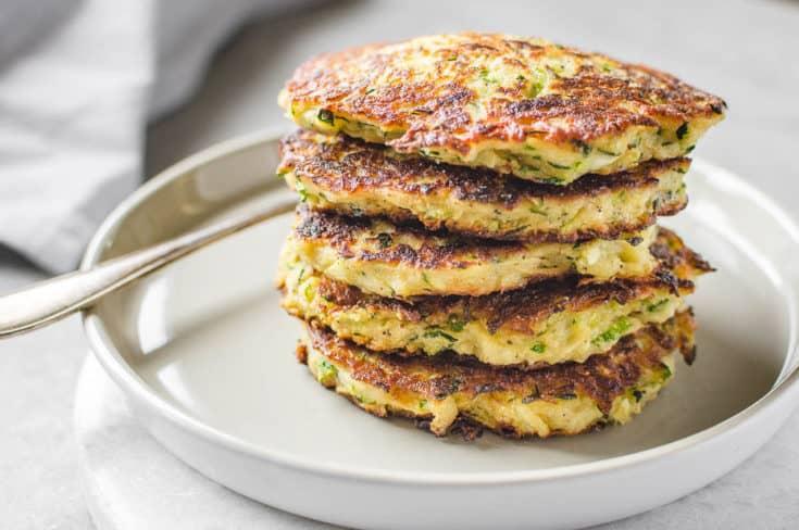 zucchini fritters vegan