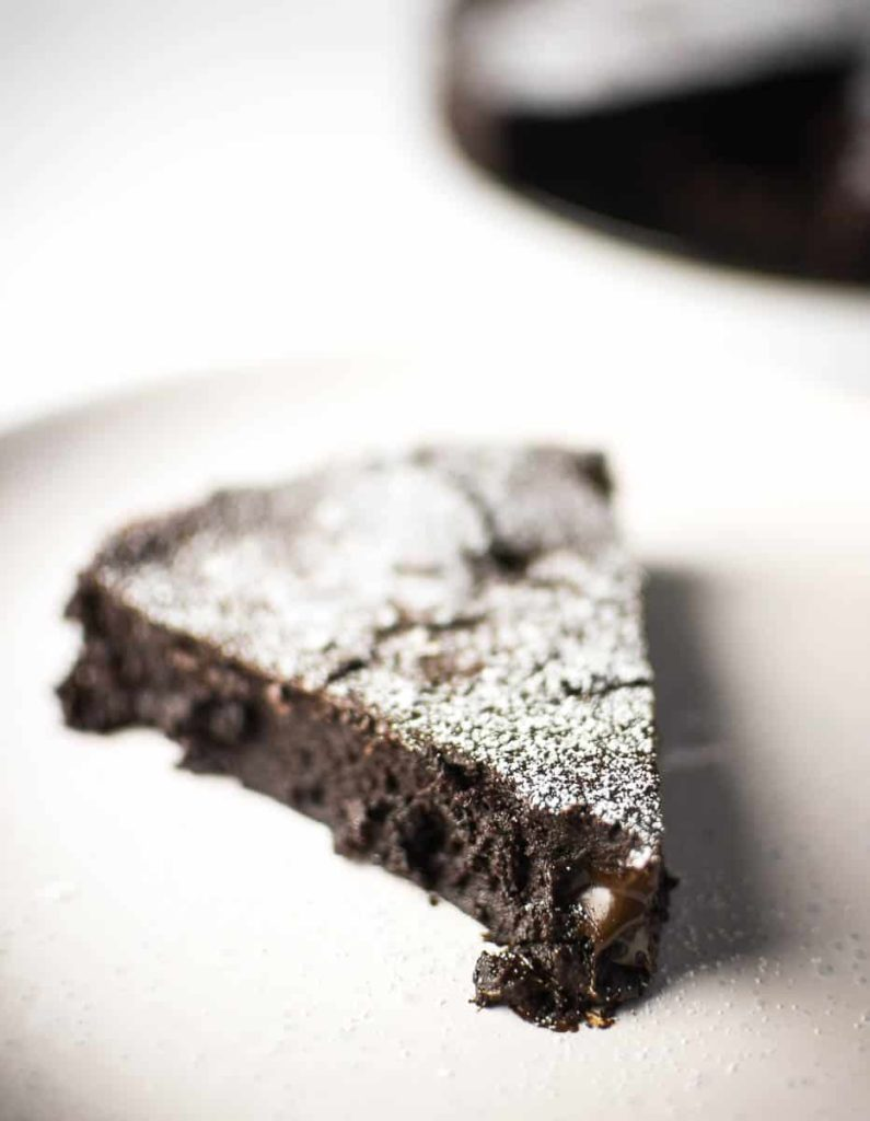 simple vegan chocolate cake